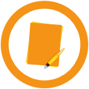 icon of paper representing b2b landing pages