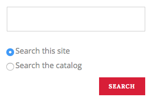 Advanced on-site search