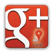 Google Plus Local logo