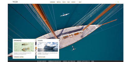 Zurn Yachts website